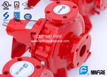 FM Approved End Suction Fire Pump 400GPM / 155PSI For Pipelines Bureaus